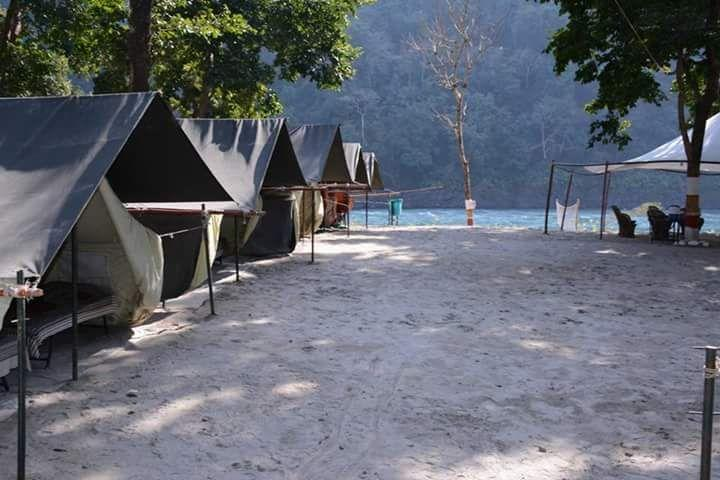 beach camps in marindrive