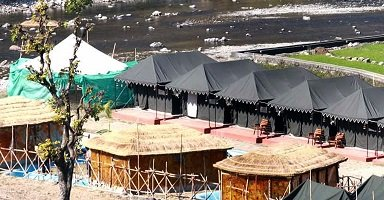 Book Best Rishikesh Jungle Luxury Camps Camping In Rishikesh Packages